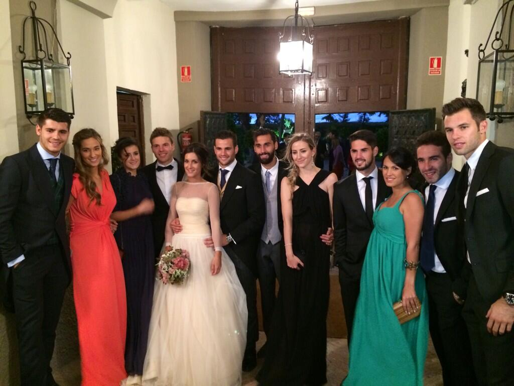 Esther fernandez wedding